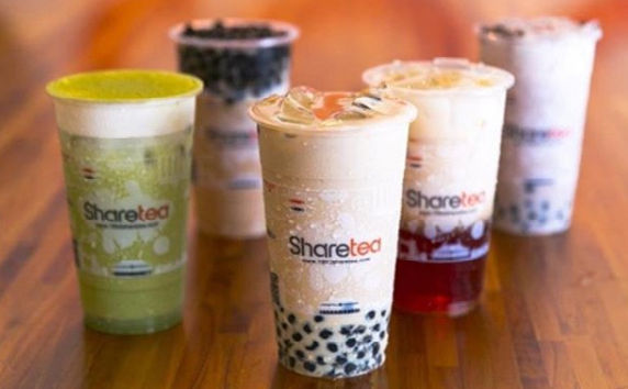 share tea bubble tea delivery