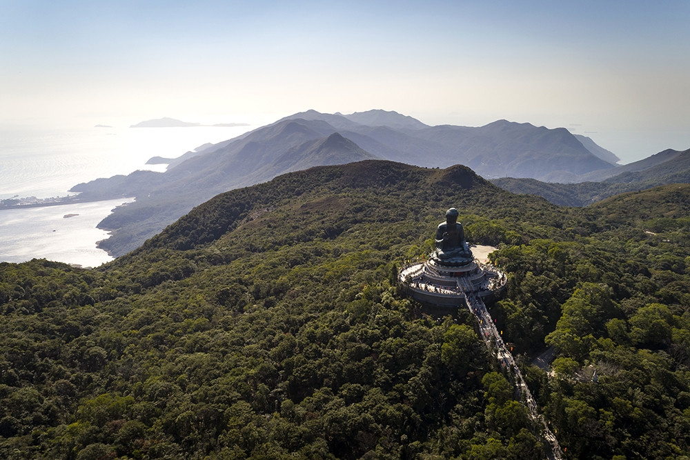 Hong Kong hiking trails - Ngong Ping