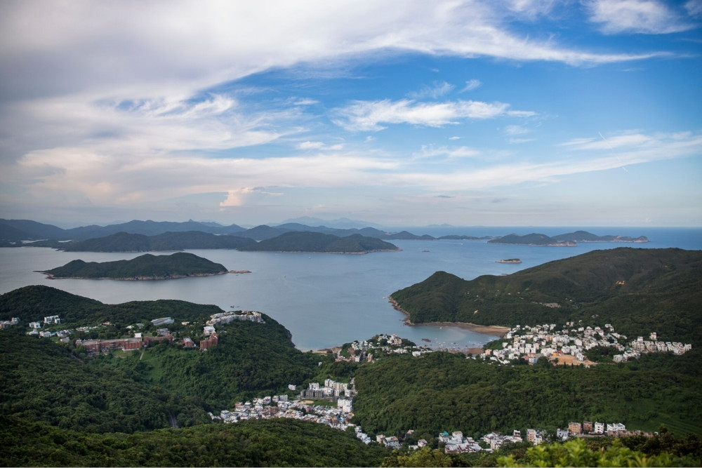 Hong Kong hiking trails - Miu Tsai Tun and High Junk Peak