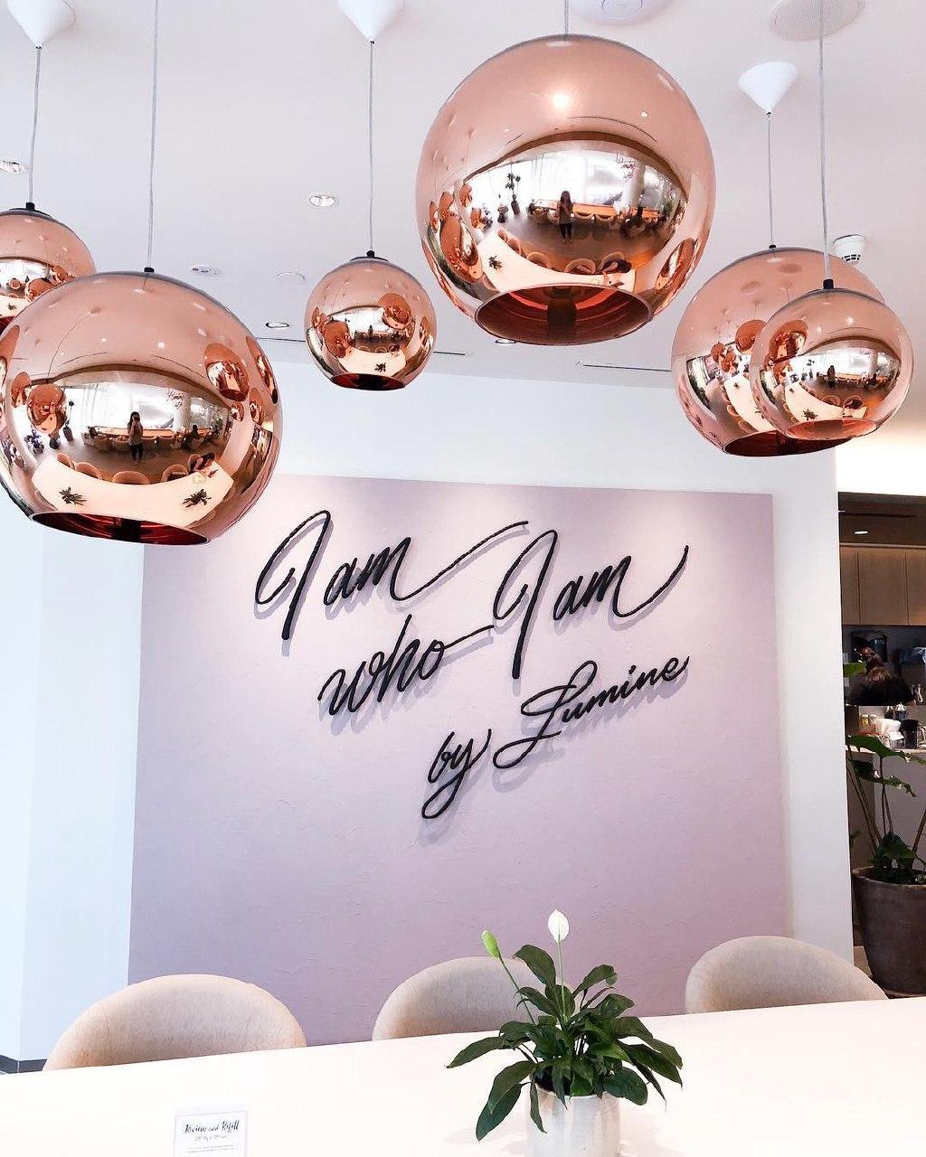 lumine pink interior decor
