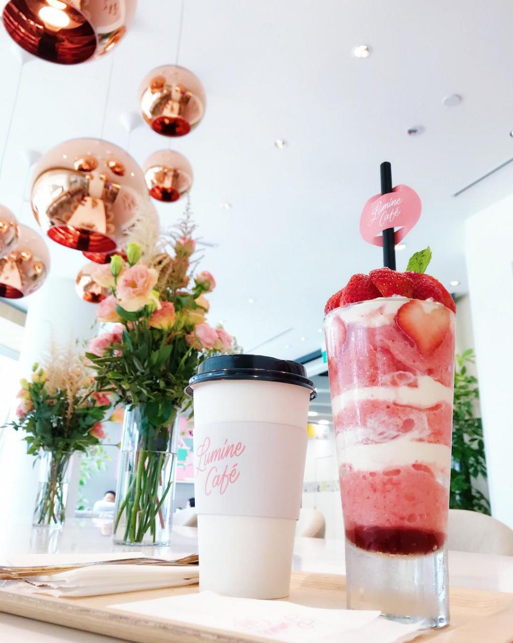lumine cafe beverages