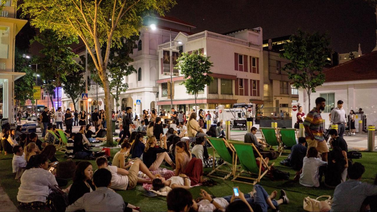 SAM - Singapore Art Week 2019 - outdoor movie screenings