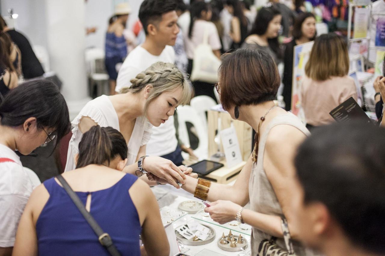 SAM - Singapore Art Week 2019 - TLP Community Art Market