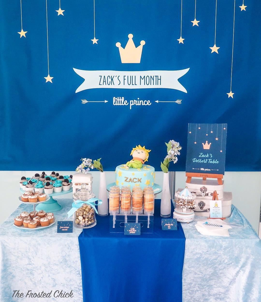 little prince dessert table