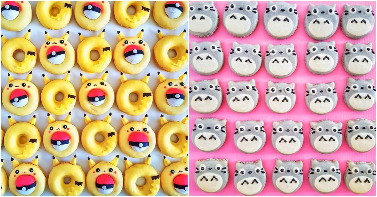 pikachu totoru doughnut