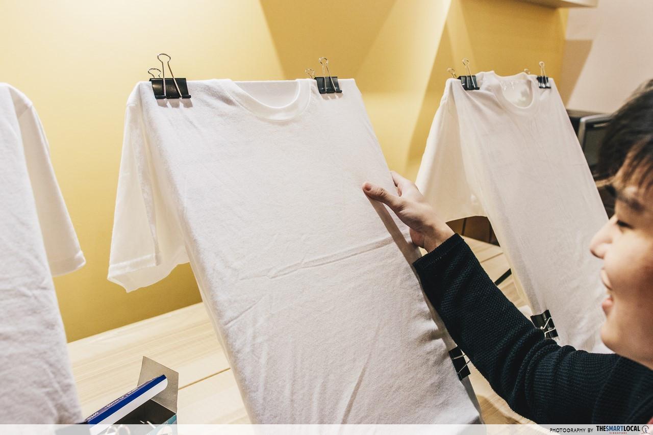 the noteway art studio t shirt