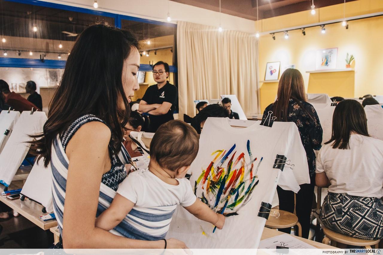 the noteway art studio family friendly activities