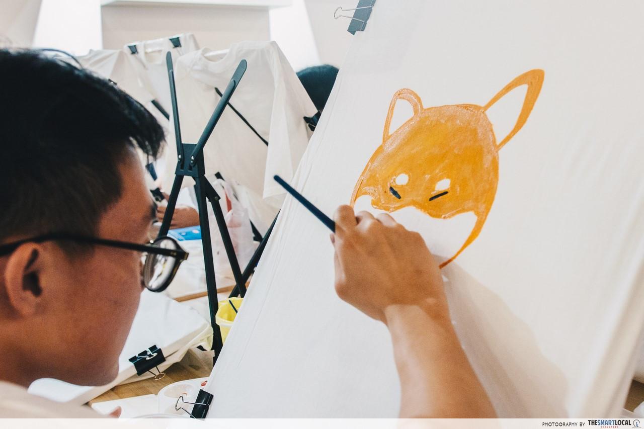 art jamming singapore the noteway art studio