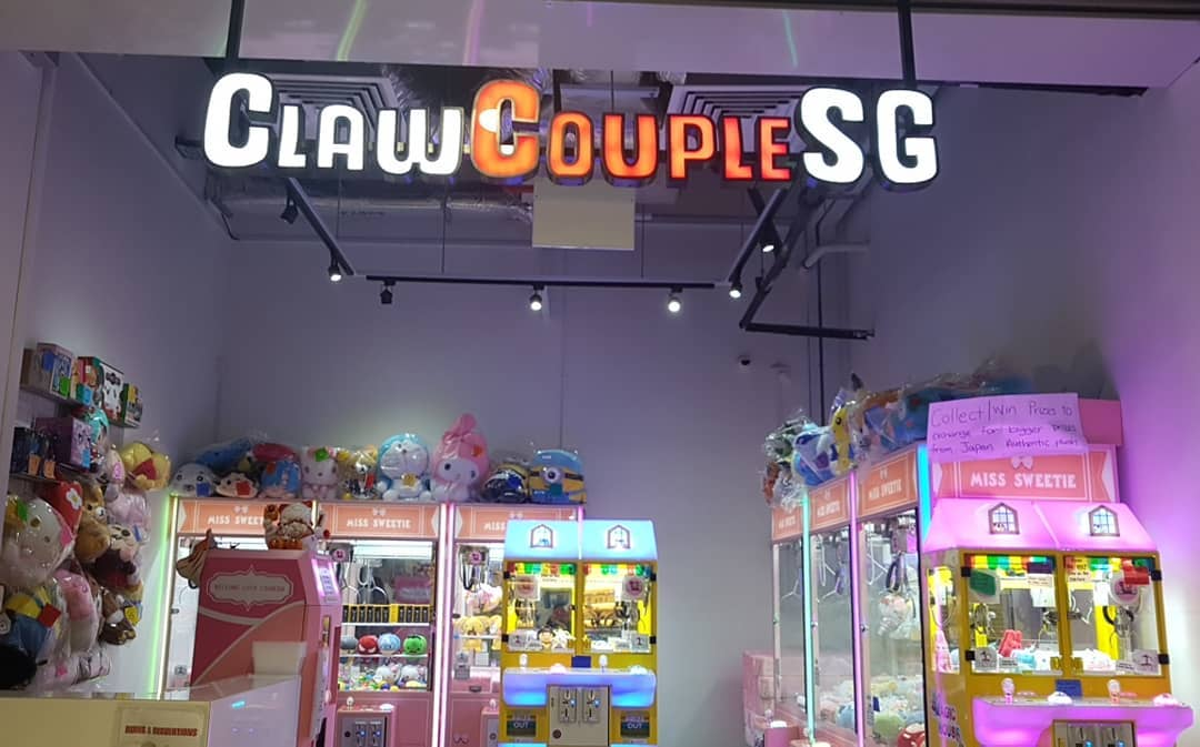 Claw Machines in Singapore, Claw Couple SG