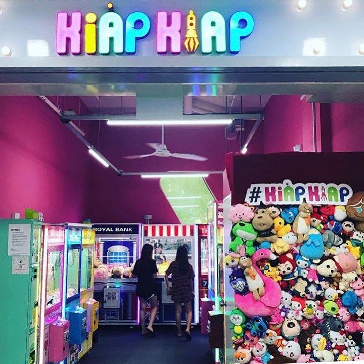 Claw Machines in Singapore, Kiap Kiap