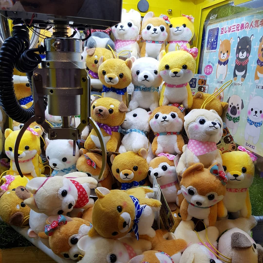 Claw Machines in Singapore, Pick a Prize