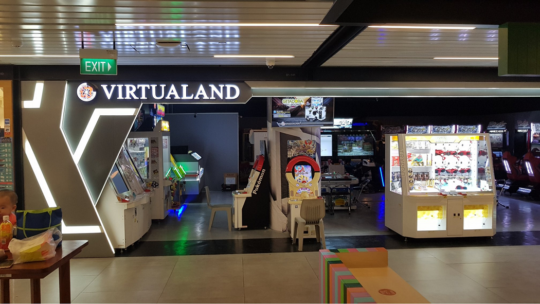 Claw Machines in Singapore, Virtualand