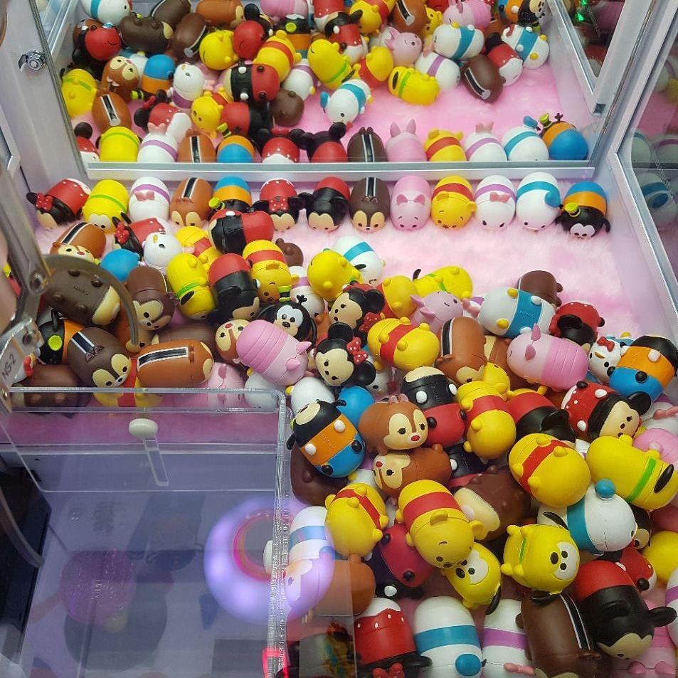 Claw Machines in Singapore, OmOcha World