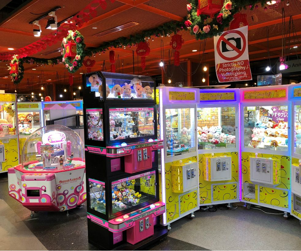 Claw Machines in Singapore, Poka-oo