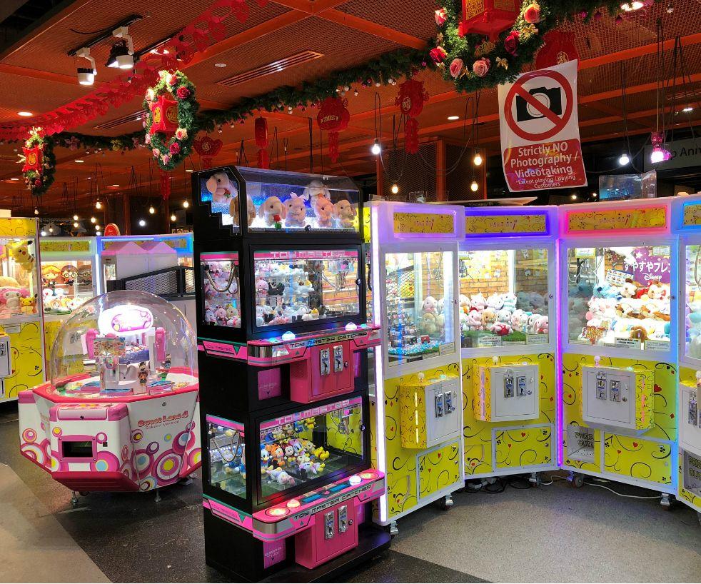 Claw Machines in Singapore, Poka-oo