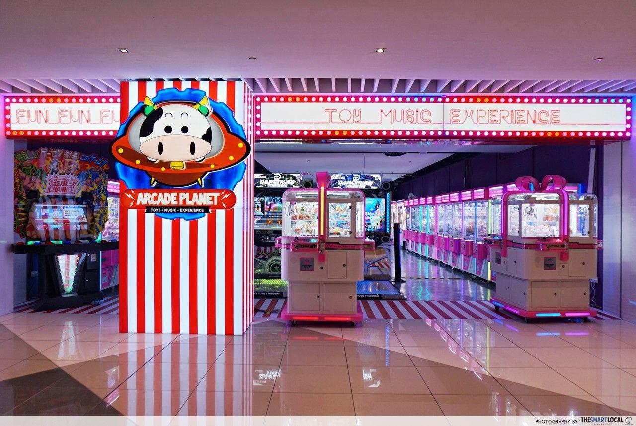 Arcade Planet Is Suntec City's New Hidden Arcade With 40