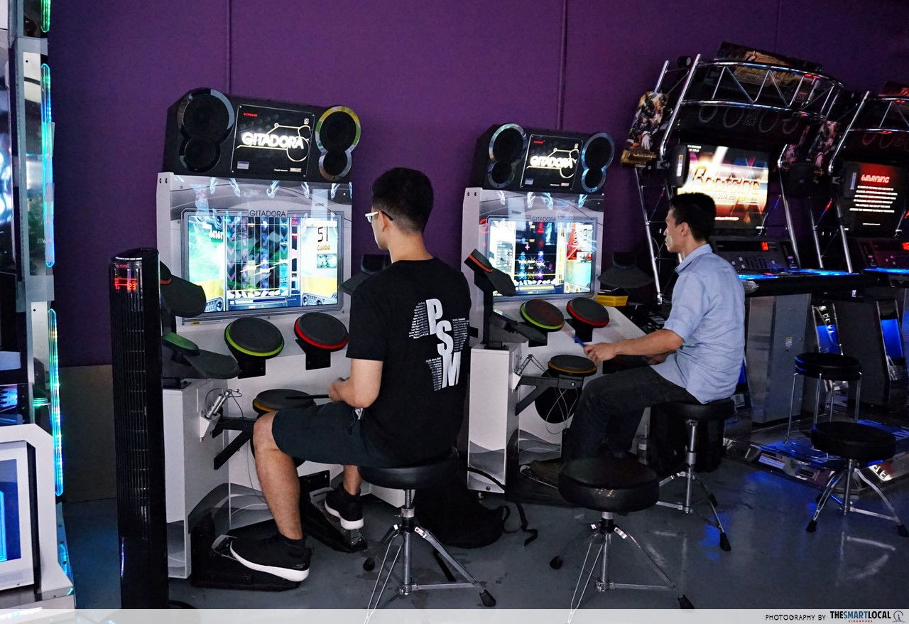 Arcade Planet Gitadora drum game