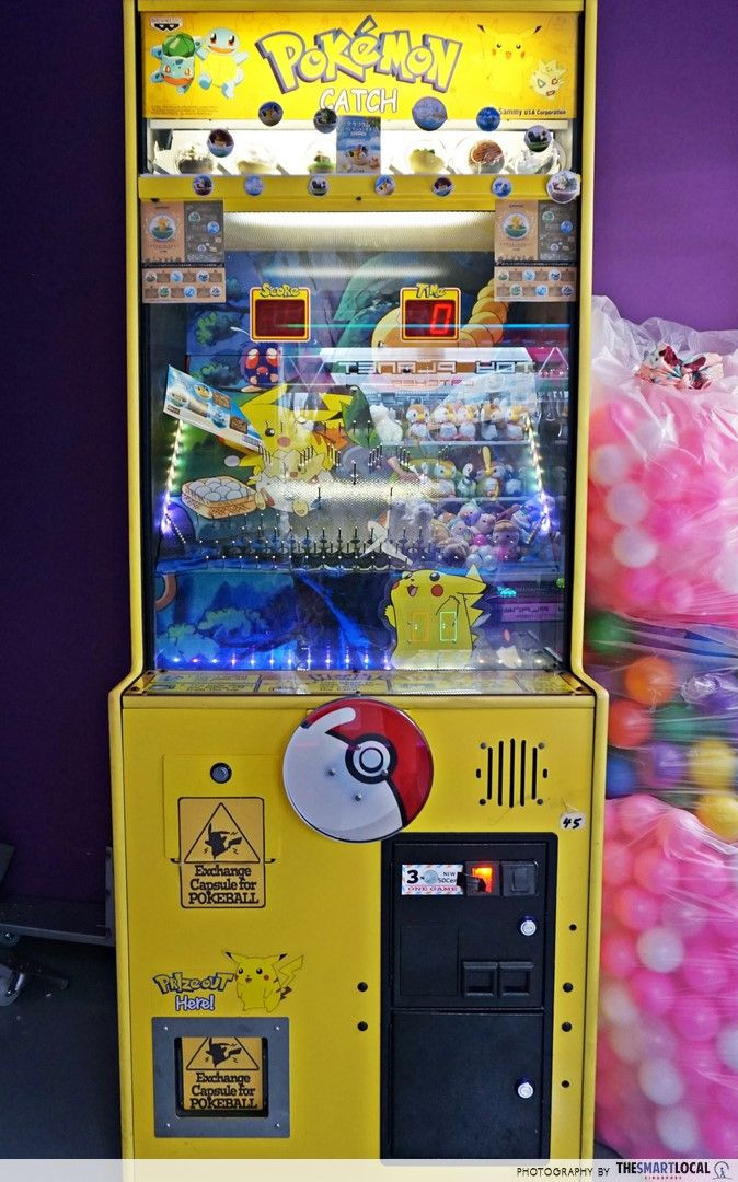 Arcade Planet Pokemon Catch pinball