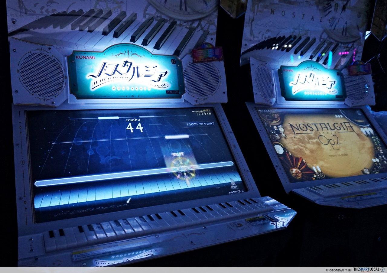 Arcade Planet Nostalgia Op. 2 piano game