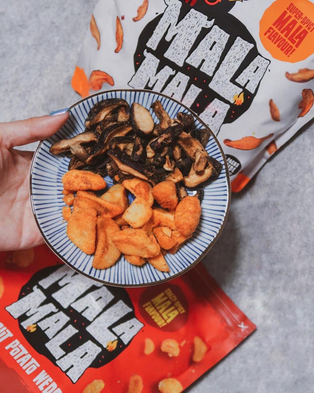 Mala Mala, Mala Chips in Singapore