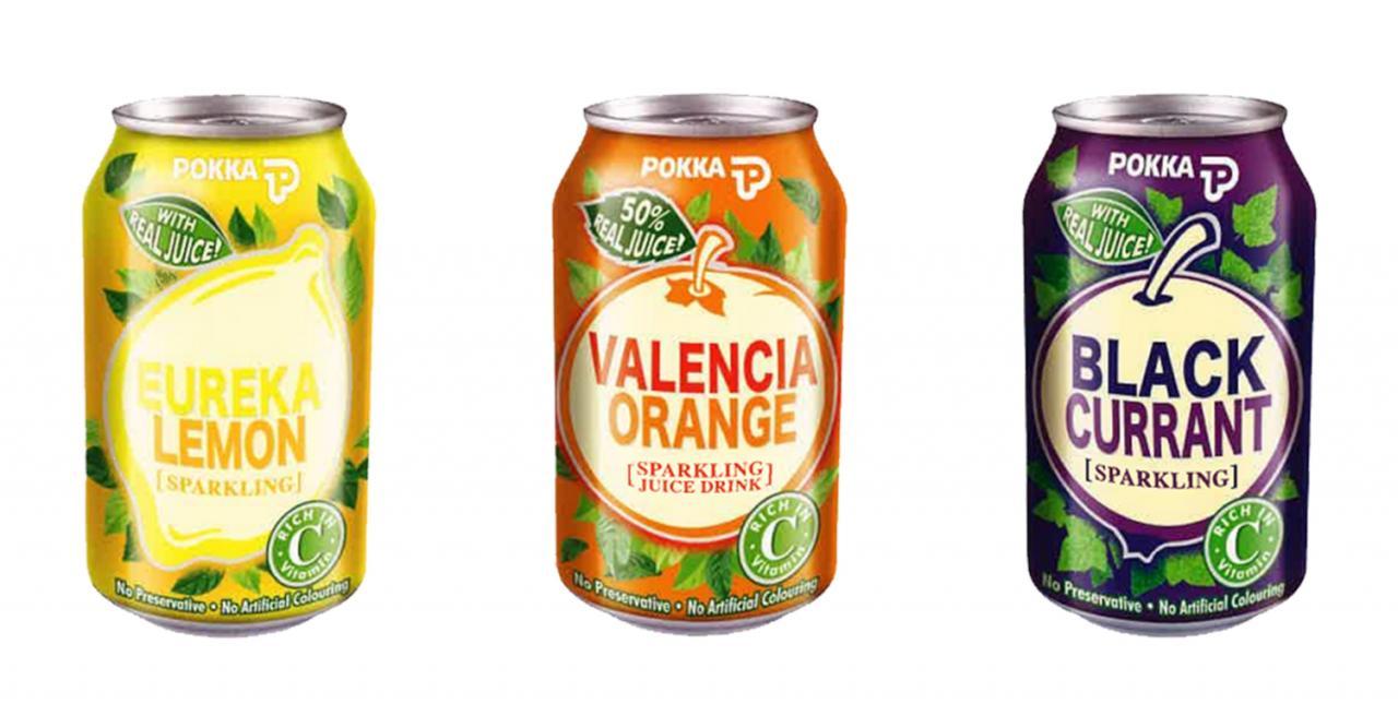 pokka sparkling drinks