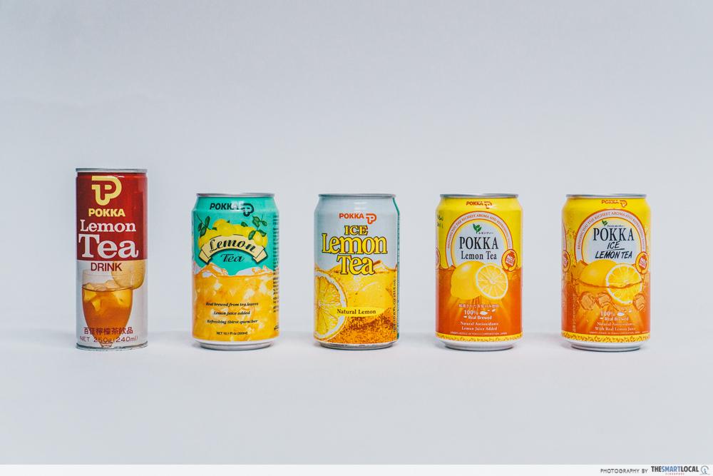 pokka ice lemon tea