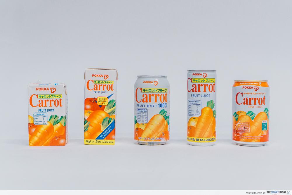 pokka carrot fruit juice