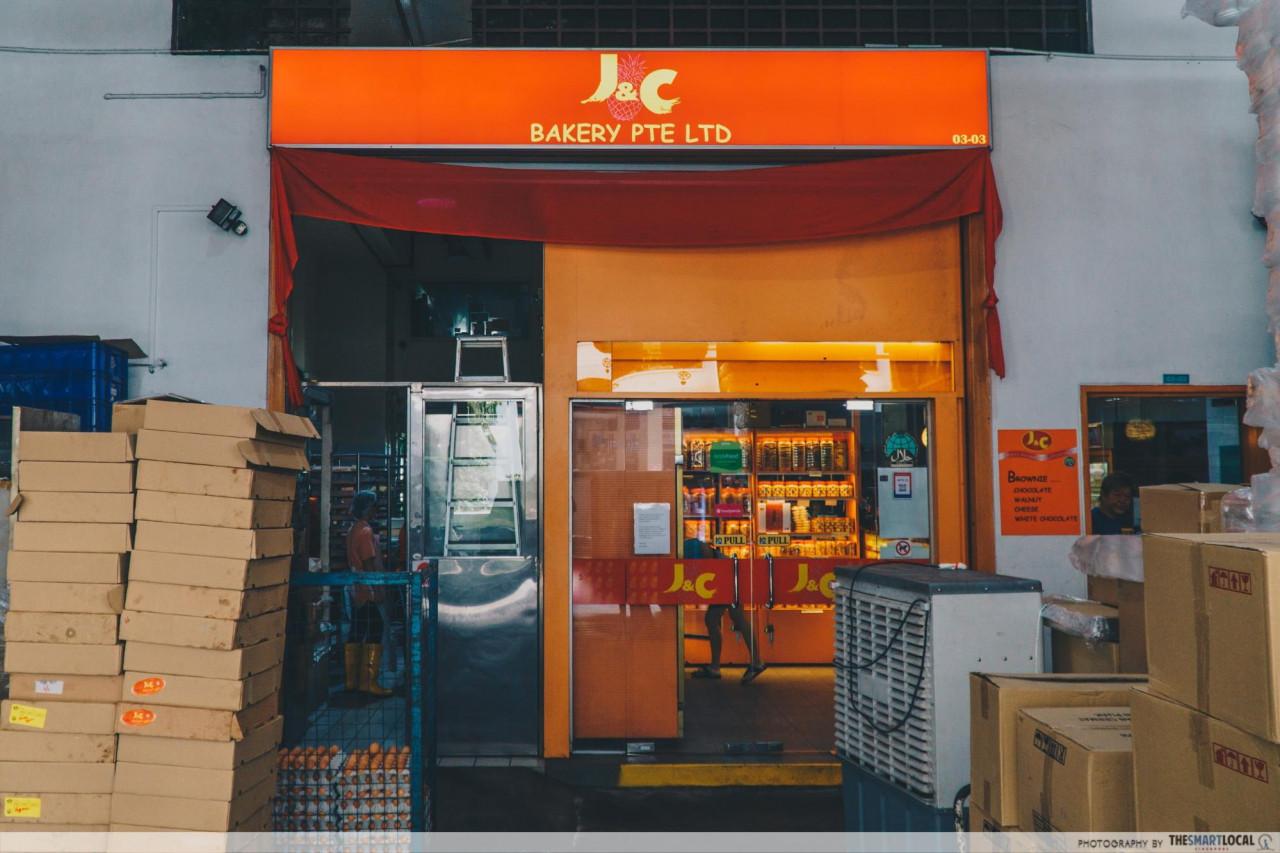 j&c bakery j and c bakery woodlands bakery cny snacks