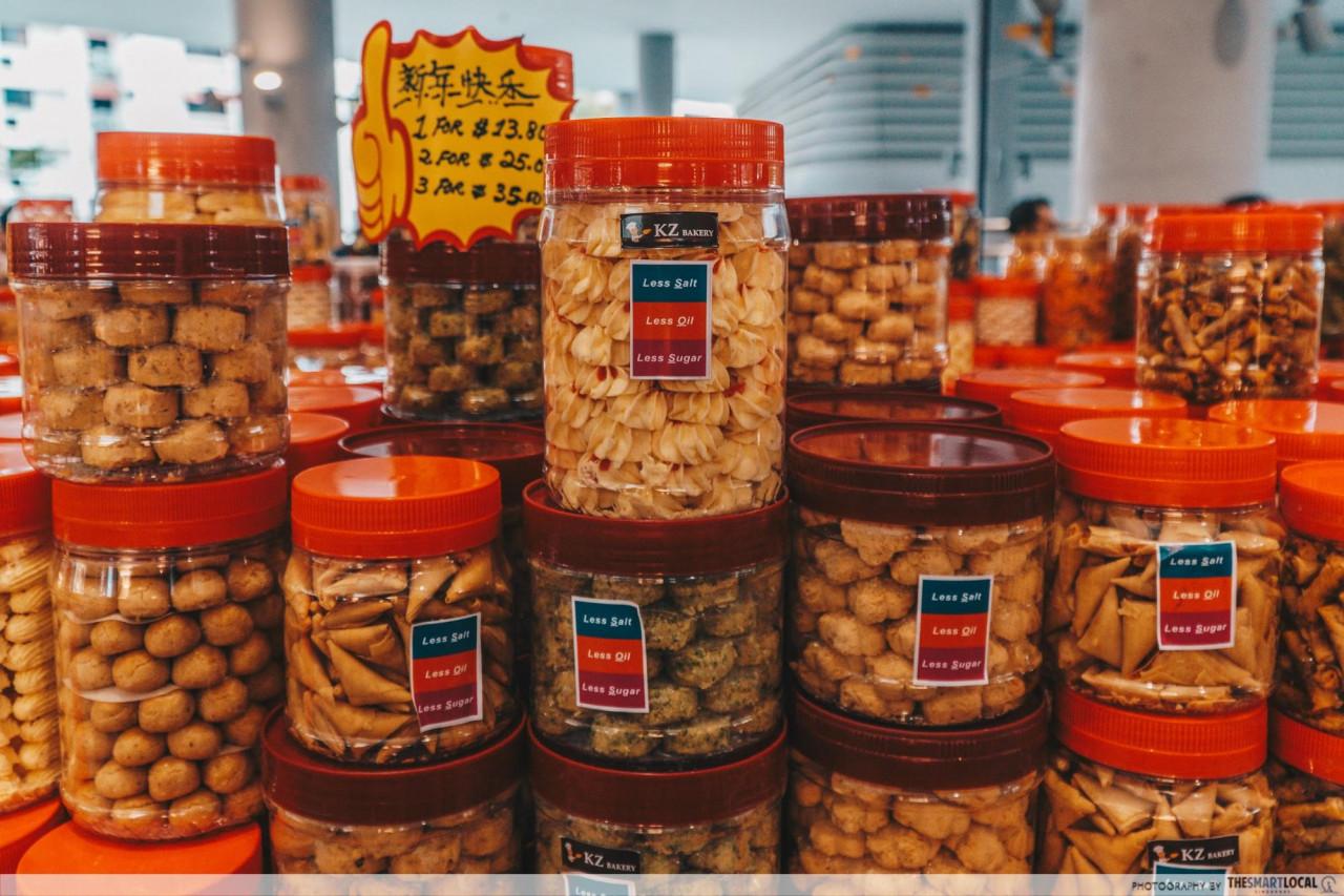 healthy cny snacks kampung admiralty kz bakery