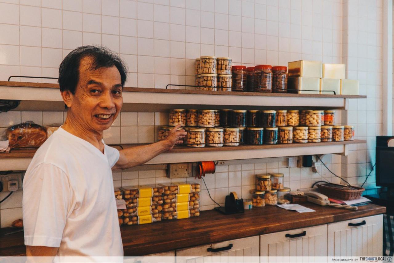 chez rose yishun bakery cny snacks