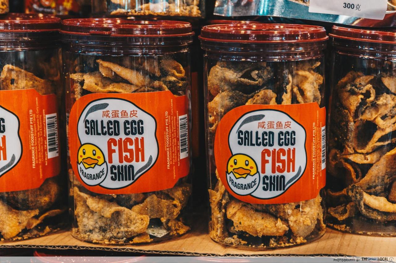 dj bakery salted egg snack cny snacks