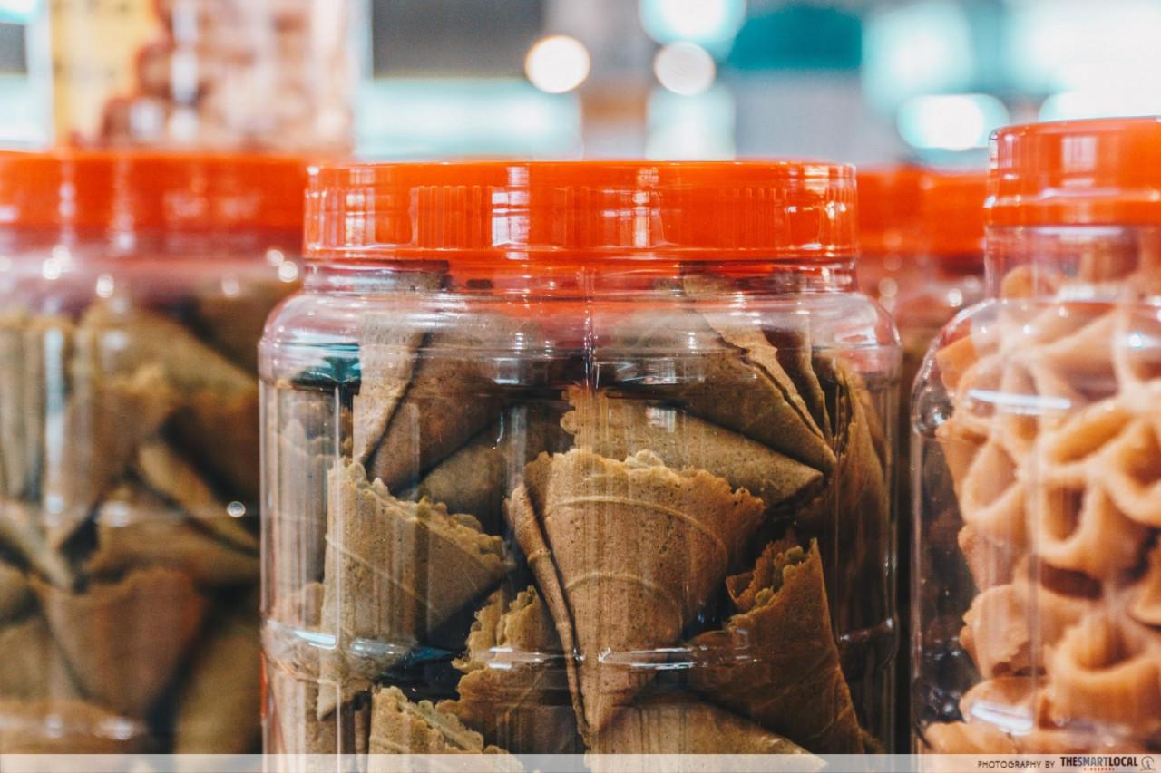matcha love letter cny snack kz bakery admiralty kampung