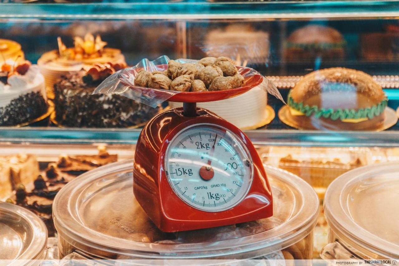 weigh dj roti bakery yishun kok zai peanut puff
