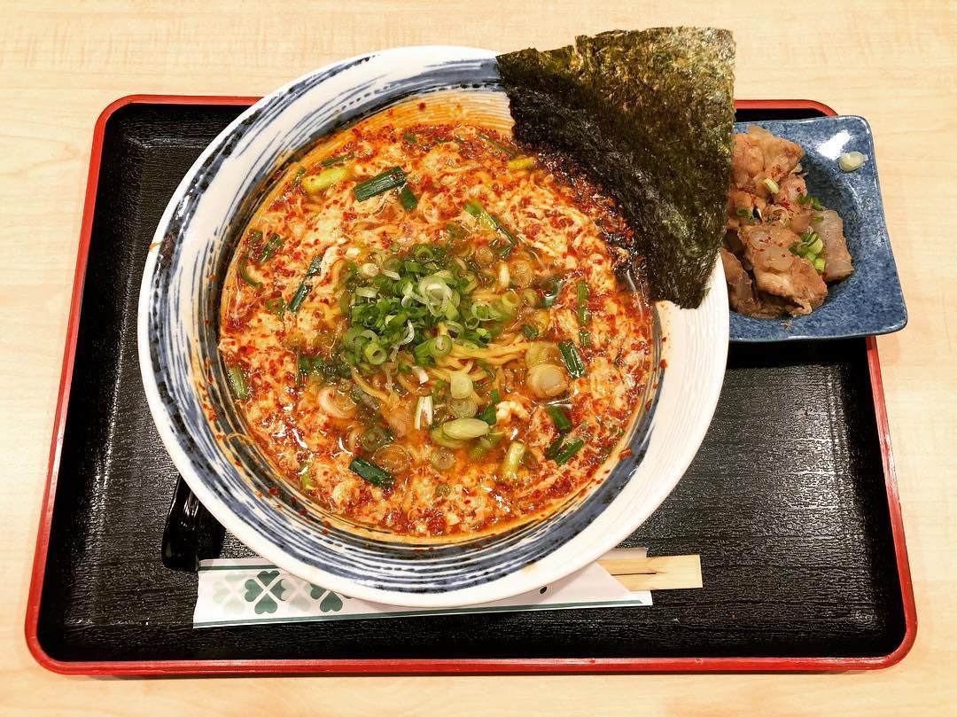 1-for-1 ramen at Kyushu-men Road Issi