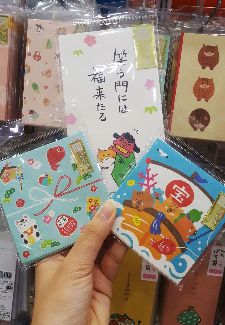 Daiso angbaos for Chine New Year