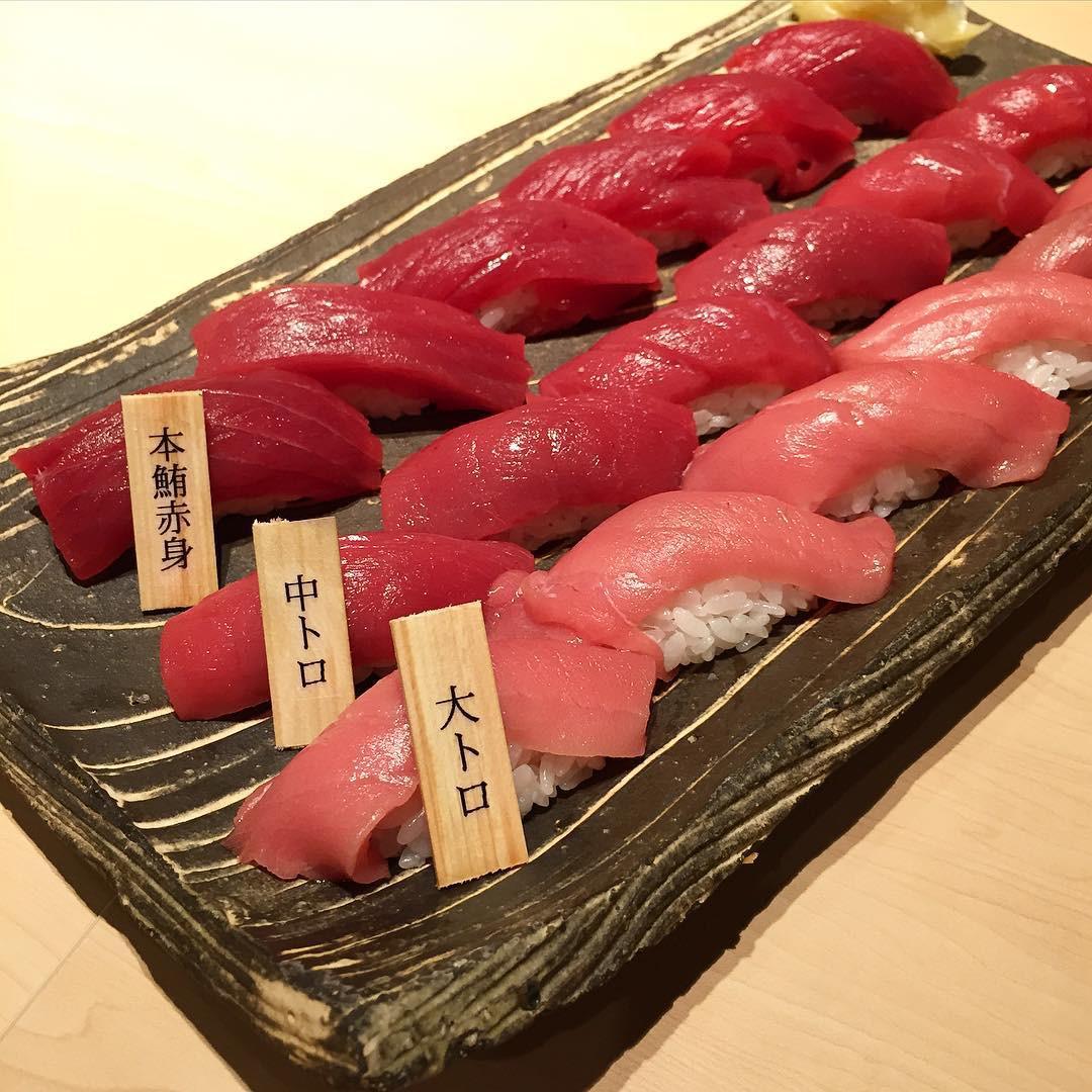 Michelin street food guide 2019 singapore sashimi