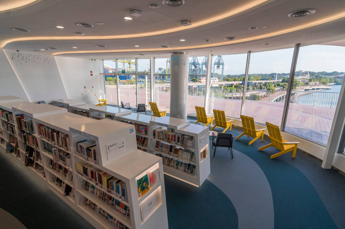 library at harbourfront