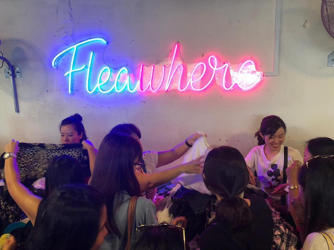 fleawhere monthly flea party