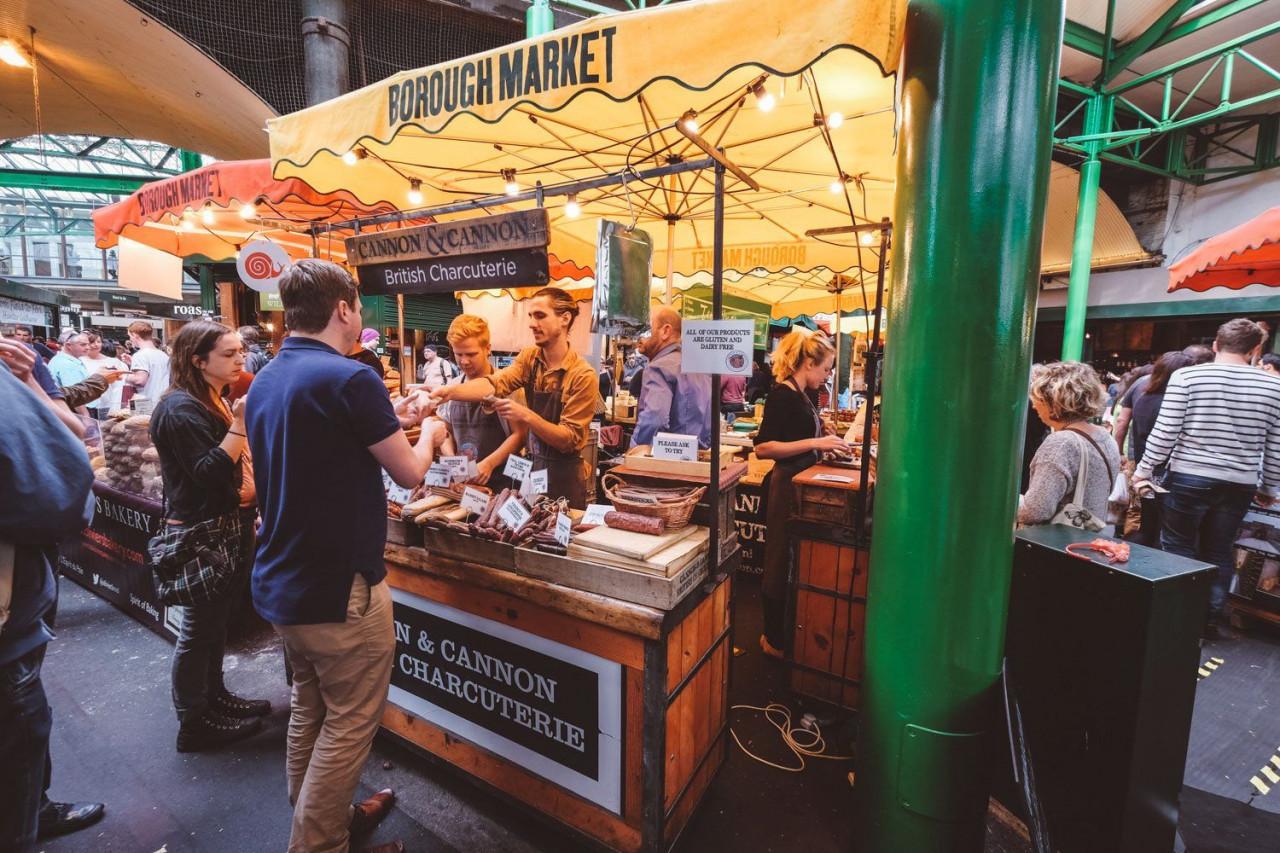 borough market london food town