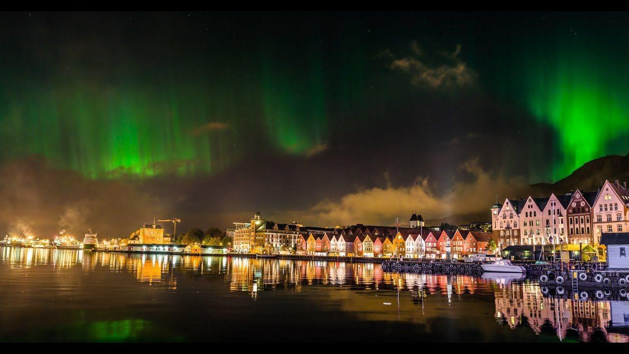 northern lights aurora borealis denmark bergen