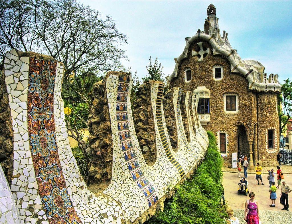 barcelona sagrada familia casa batllo park guell