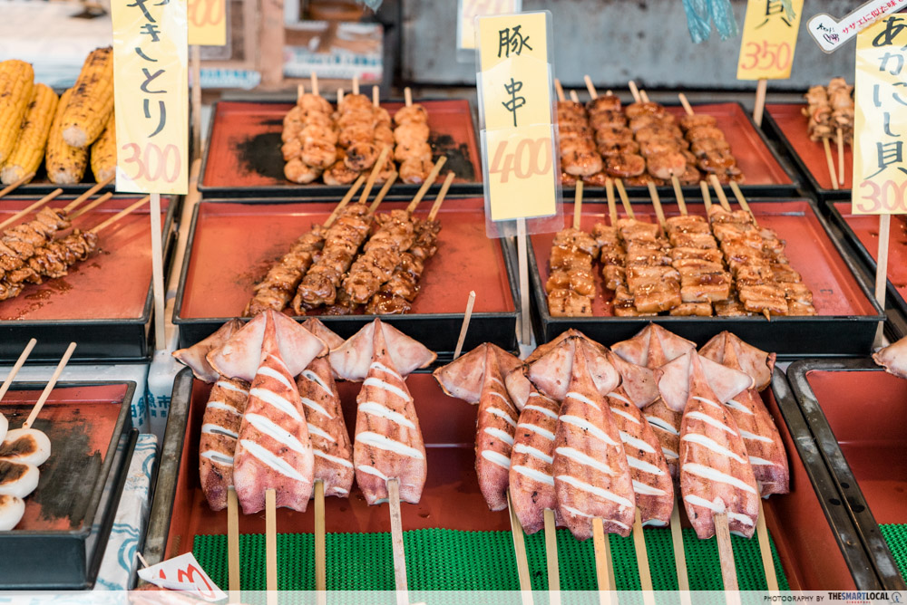 Must-Try dishes in Niigata - Fish market