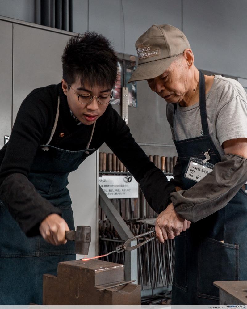 Must-Try dishes in Niigata - Tsubamesanjo blacksmiths