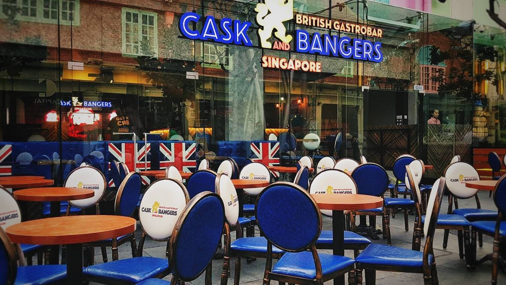 cask and bangers valentine's day set dinner 2019