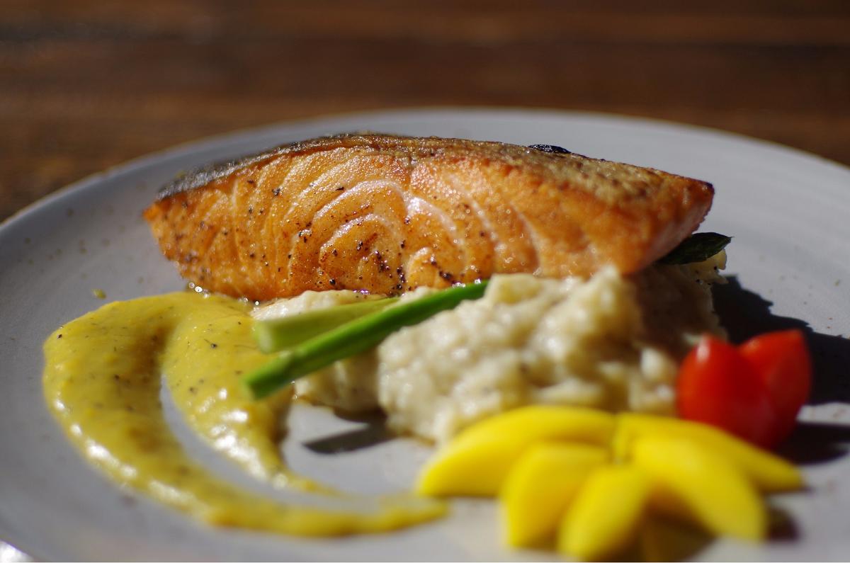 miso salmon inspirit house valentine's day set dinner 2019