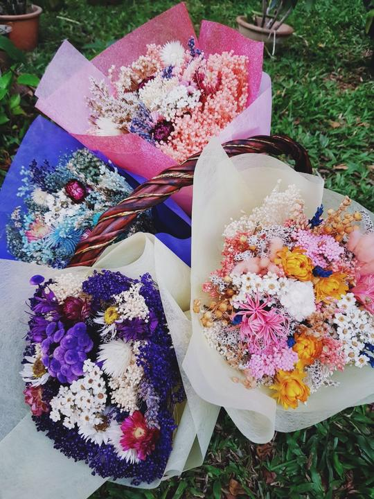 Valentine's Day bouquets under - Dried bouquets