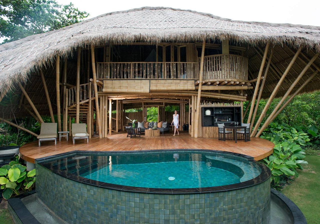 cempedak bamboo villa