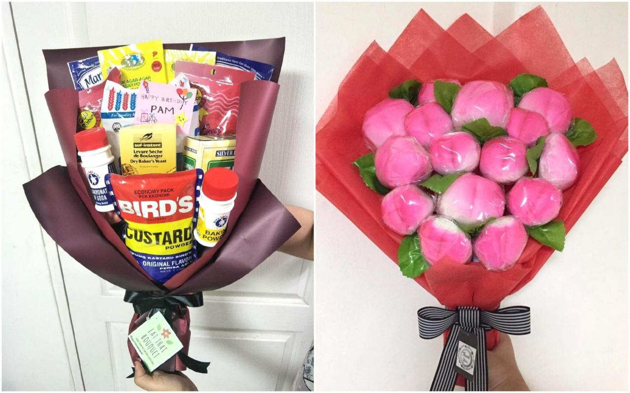Edible bouquets for Valentine's Day 2019