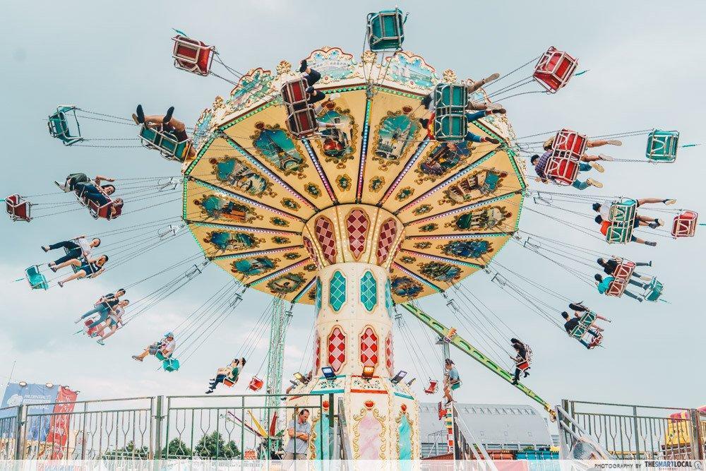 marina bay carnival singapore 2019 rides