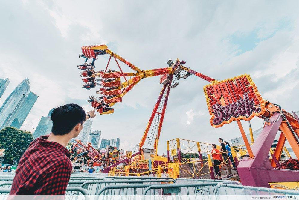marina bay carnival singapore 2019 new rides